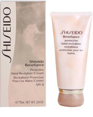 Shiseido Benefiance crema de manos protectora SPF 8 2