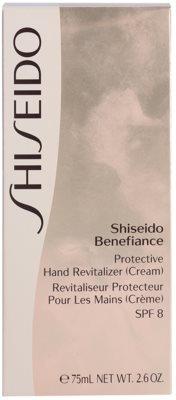 Shiseido Benefiance crema de manos protectora SPF 8 3