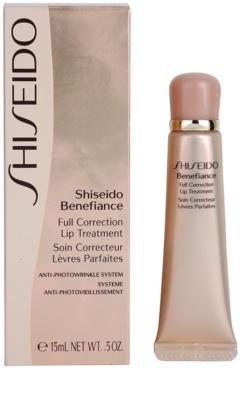 Shiseido Benefiance bálsamo regenerador para lábios 2