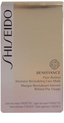 Shiseido Benefiance Masca revitalizanta intensivă pentru un aspect intinerit 3