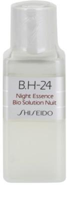Shiseido B.H-24 tratament regenerator pentru noapte cu acid hialuronic rezerva