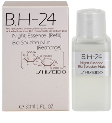 Shiseido B.H-24 schützende Nachtpflege mit Hyaluronsäure Ersatzfüllung 1