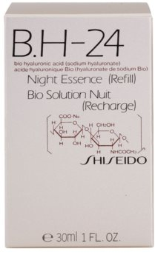 Shiseido B.H-24 schützende Nachtpflege mit Hyaluronsäure Ersatzfüllung 2