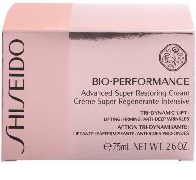 Shiseido Bio-Performance odżywczy krem przeciw zmarszczkom 4
