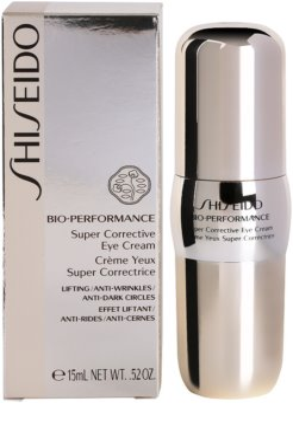 Shiseido Bio-Performance коректуючий крем для очей проти зморшок та темних кіл 3