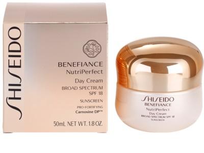 Shiseido Benefiance NutriPerfect odmładzający krem na dzień SPF 15 3