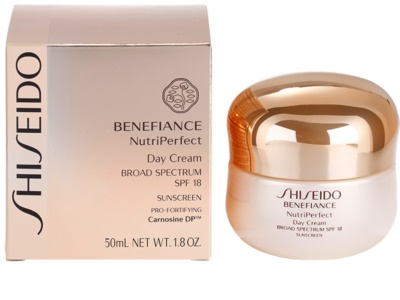 Shiseido Benefiance NutriPerfect омолоджуючий денний крем SPF 15 3