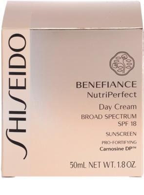 Shiseido Benefiance NutriPerfect odmładzający krem na dzień SPF 15 4