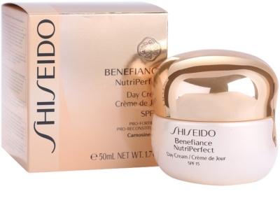 Shiseido Benefiance NutriPerfect odmładzający krem na dzień SPF 15 5