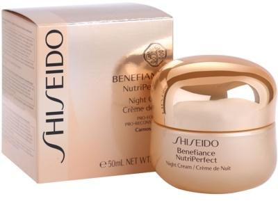 Shiseido Benefiance NutriPerfect revitalisierende Nachtcreme gegen Falten 2