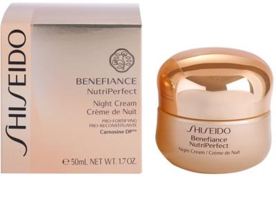 Shiseido Benefiance NutriPerfect revitalisierende Nachtcreme gegen Falten 3
