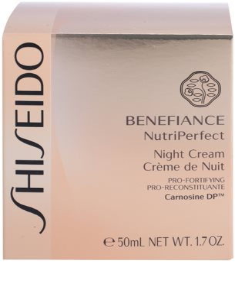 Shiseido Benefiance NutriPerfect revitalisierende Nachtcreme gegen Falten 4