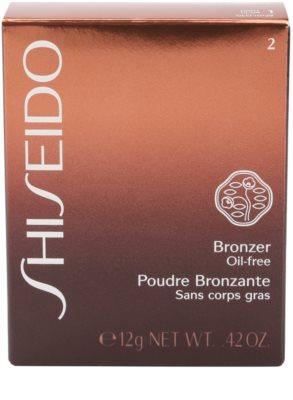 Shiseido Base Bronzer bronzosító púder 4