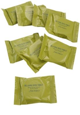 Shiseido Body Relaxing entspannende Brausetablette für das Bad 1
