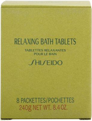 Shiseido Body Relaxing entspannende Brausetablette für das Bad 2