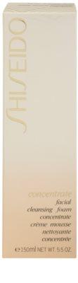 Shiseido Concentrate почистваща пяна  за суха или много суха кожа 2