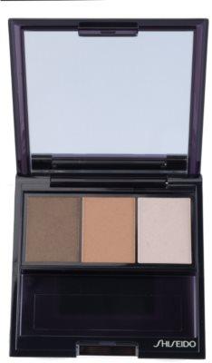 Shiseido Eyes Luminizing Satin trío de sombras de ojos