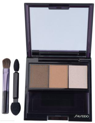 Shiseido Eyes Luminizing Satin trio oční stíny 1