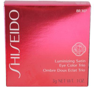 Shiseido Eyes Luminizing Satin trio oční stíny 3