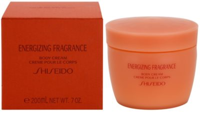 Shiseido Energizing Fragrance tělový krém pro ženy