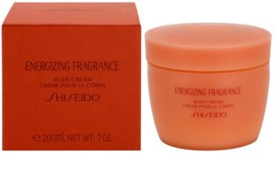Shiseido Energizing Fragrance testkrém nőknek