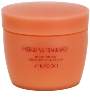 Shiseido Energizing Fragrance Body Cream for Women 1