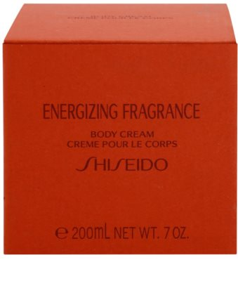 Shiseido Energizing Fragrance Body Cream for Women 3