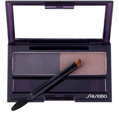 Shiseido Eyes Eyebrow Styling paletta a szemöldök sminkeléséhez 1