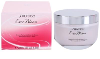 Shiseido Ever Bloom crema corporal para mujer