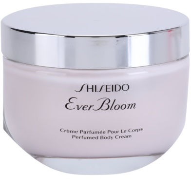 Shiseido Ever Bloom crema corporal para mujer 1