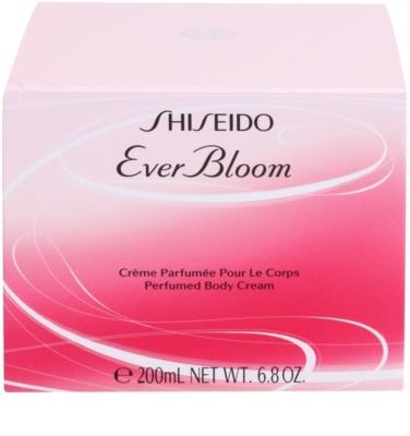 Shiseido Ever Bloom crema corporal para mujer 3