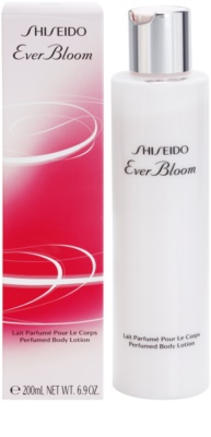 Shiseido Ever Bloom leche corporal para mujer