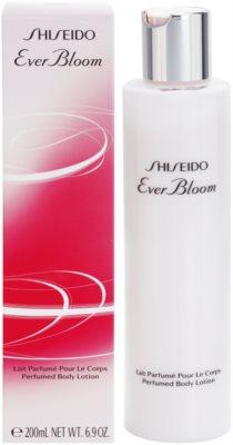 Shiseido Ever Bloom tělové mléko pro ženy
