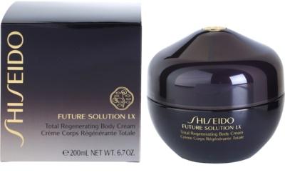 Shiseido Future Solution LX crema  corporal reafirmante para dejar la piel suave y lisa 3