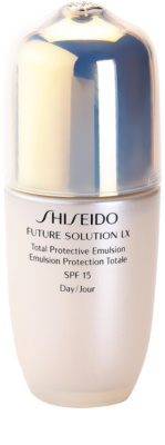 Shiseido Future Solution LX védő nappali emulzió SPF 15