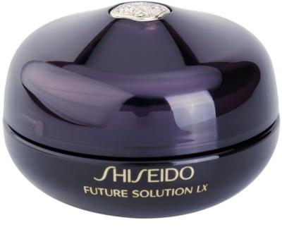 Shiseido Future Solution LX Crema regeneratoare cu efect de netezire zona ochilor si a buzelor