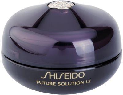Shiseido Future Solution LX відновлюючий крем з розгладжуючим ефектом для шкіри очей та губ
