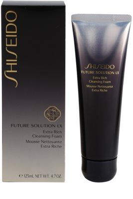 Shiseido Future Solution LX luxuosa espuma de limpeza 2