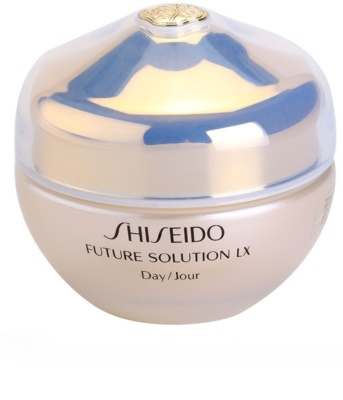 Shiseido Future Solution LX дневен защитен крем против стареене на кожата SPF 15