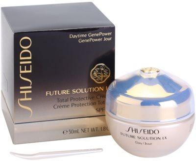 Shiseido Future Solution LX denní ochranný krém proti stárnutí pleti SPF 15 2