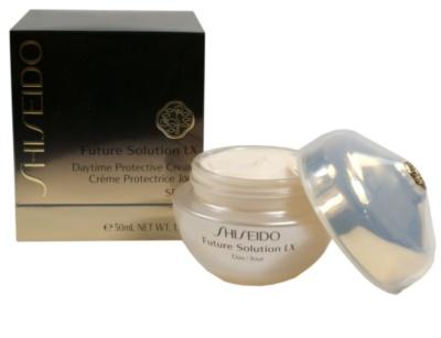 Shiseido Future Solution LX denní ochranný krém proti stárnutí pleti SPF 15 1
