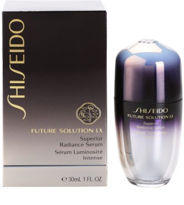 Shiseido Future Solution LX serum rozświetlające do ujednolicenia kolorytu skóry 3