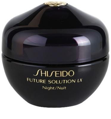Shiseido Future Solution LX crema de noche reafirmante regeneradora