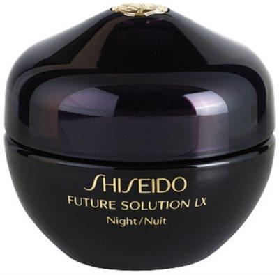 Shiseido Future Solution LX nočna regeneracijska krema za učvrstitev kože