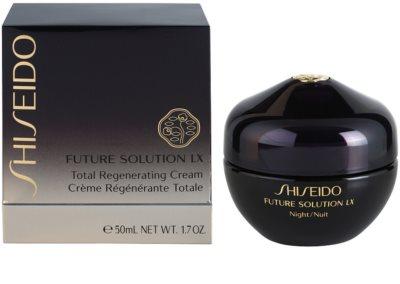Shiseido Future Solution LX crema de noche reafirmante regeneradora 2
