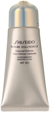Shiseido Future Solution LX crema protectoare impotriva imbatranirii pielii SPF 50+