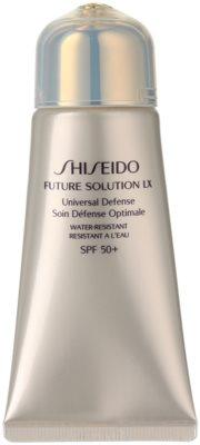 Shiseido Future Solution LX schützende Creme gegen Hautalterung SPF 50+