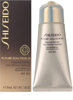Shiseido Future Solution LX creme protetor anti-idade SPF 50+ 1