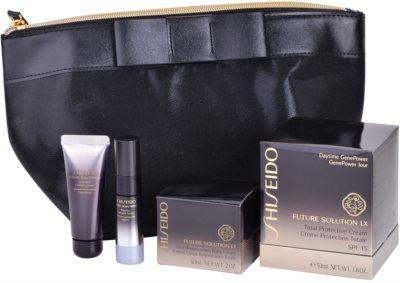 Shiseido Future Solution LX zestaw kosmetyków II.