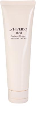 Shiseido Ibuki frissítő tisztító hab mikro granulátummal